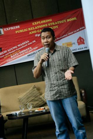 Pembicara Seminar Silih Agung Wasesa